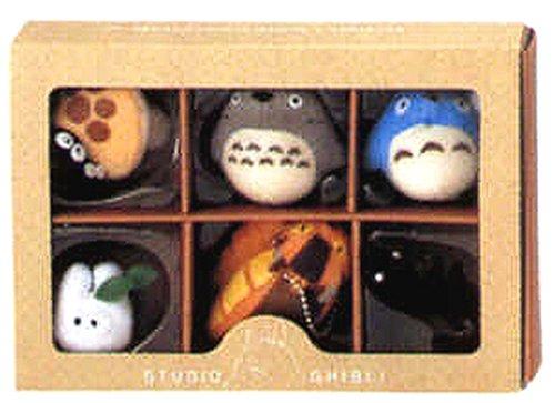 Studio Ghibli Complete Box 6 Figure Mascots...