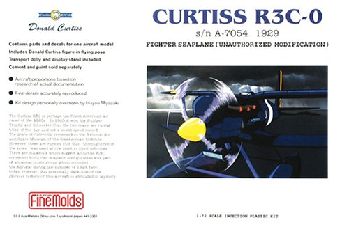 Porco Rosso - Curtiss R3C-0 - 1/72 Plastic...