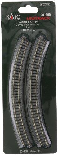 Kato USA Model Train Products Unitrack, 249mm...