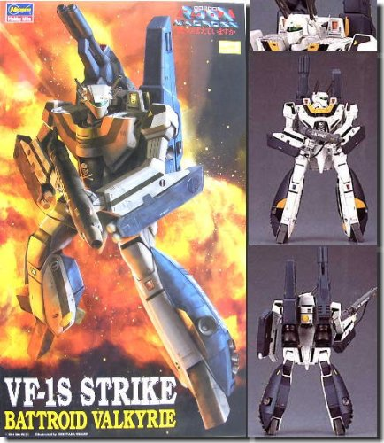 Macross 1/72 Scale VF-1S Strike Battroid...