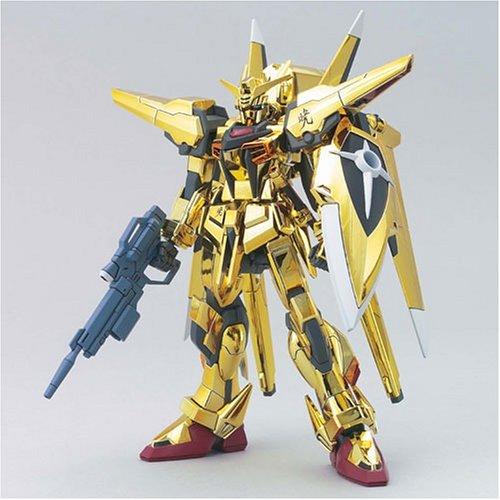 #40 Gold Oowashi Akatsuki Gundam 1/144 Model...