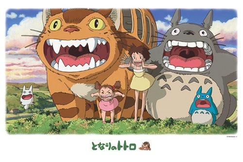 My neighbor Totoro 1000pieces Ghibli jigsaw...