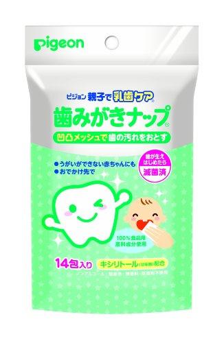 Pigeon Baby Tooth/dental Wipes 14 Pack