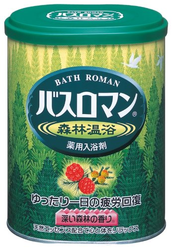 "Bath Roman Natural SkinCare ""Forest"" Japanese..."