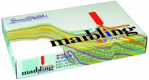 MARBLING (JAPANESE SUMINAGASHI) by Aitoh Co