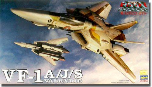 Macross VF-1A/J/S Valkyrie Fighter 1/72 Scale