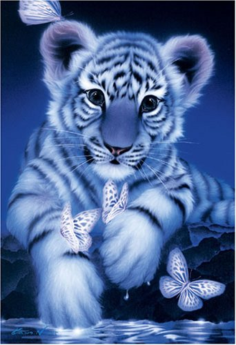Expert 450 piece White Baby Tiger 08-008 of...