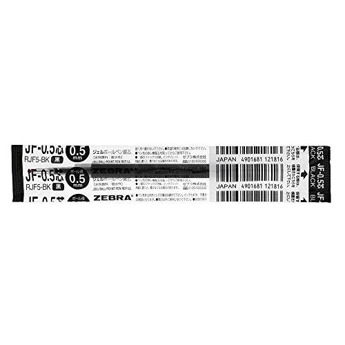 Zebra gel ballpoint pen extra lead JF-0.5mm...
