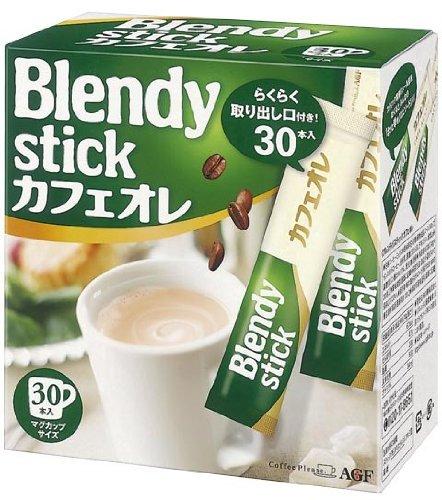 Blendy Stick Cafe Au Lait 0.49oz X 30pcs