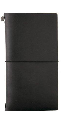 Traveler's Notebook Black Leather