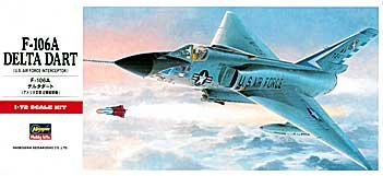 F-106A Delta Dart US Air Force Interceptor...