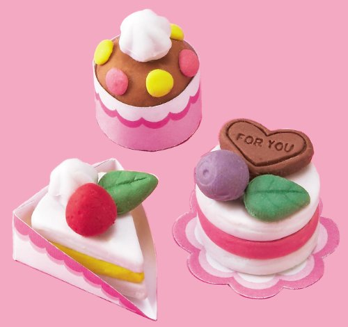 Diy cake pencil eraser making kit from japan shopping service solutioingenieria Image collections
