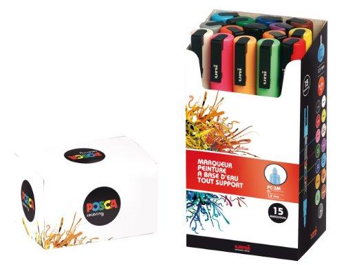 Uni-posca PC-3M Paint Marker Pen - Fine Point...