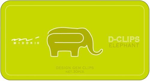 Midori D-Clip Paper Clips - Original Series -...