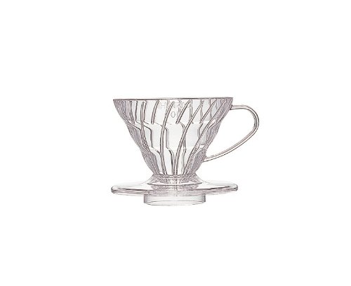 japan import Hario V60 dripper transparent heat-resistant glass 01 Red 1-2 cups of VDG-01R