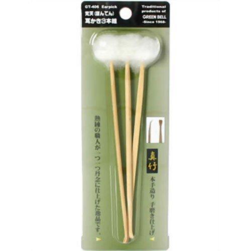 Greenbel Japan Wooden Earpick