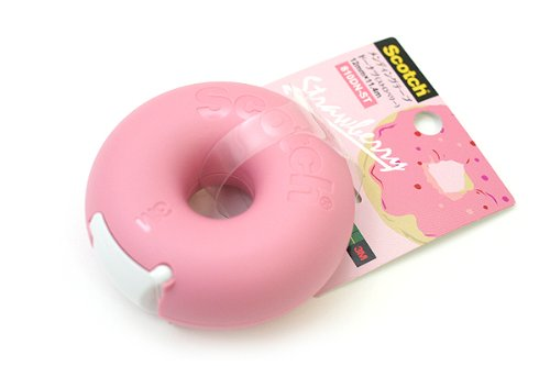 Sweet Stationery - Scotch Tape Donut Dispensers!