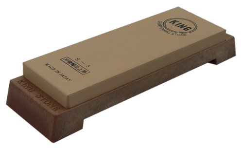 King S-3 6000 Grit Deluxe Water Stone