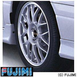 Fujimi TW35 BBS RG346 Wheel & Tire Set 17 inch...