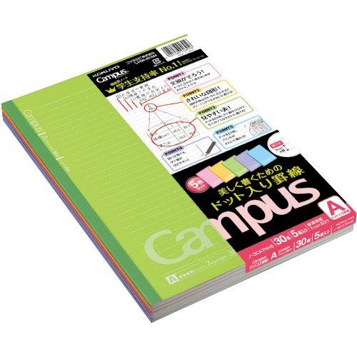 Kokuyo Campus Notebook - Semi B5 - Dotted 7 mm...