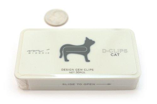Midori (DesignPhil) D-Clip Paper Clips