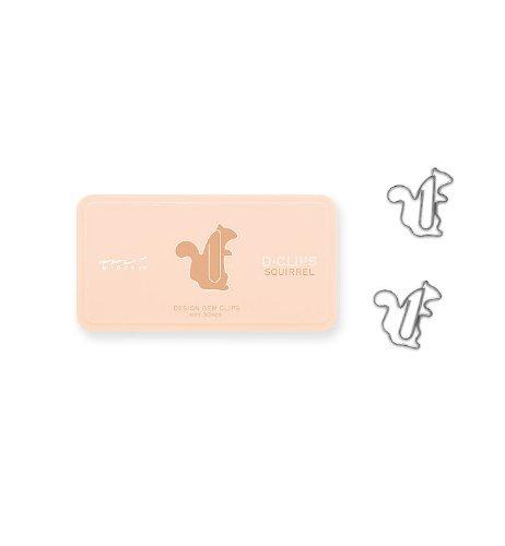 Midori D-Clip Paper Clips - Pet Series -...