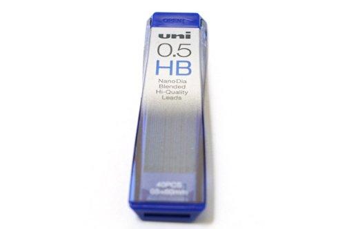 Uni NanoDia Low-Wear Pencil Lead - 0.5 mm - HB