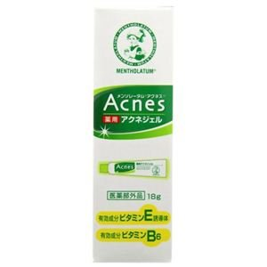 Mentholatum Acnes medicated acne gel
