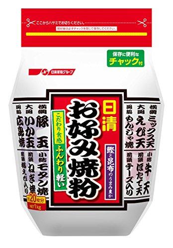 Nissin Okonomiyaki Flour Mix 1kg Made in Japan