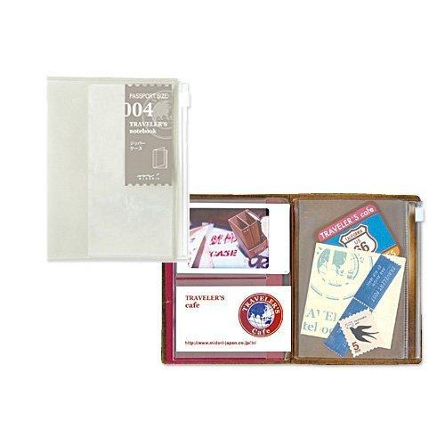 Midori Traveler's Notebook (Refill 004) Zipper...