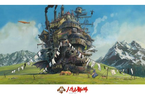 Ensky Jigsaw Puzzle 1000-258 Howl's Moving...