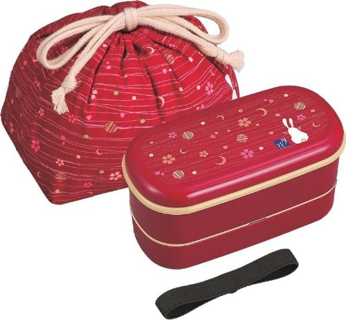lunch box japanese moon and flower bento chopsticks pouch. Black Bedroom Furniture Sets. Home Design Ideas