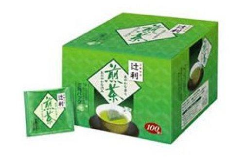 TSUJIRI Sencha Green tea Triangle tea bag...