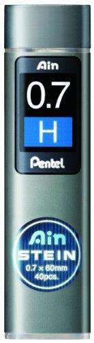 Pentel Ain Stein pencil Lead Rifll -0.7mm-H
