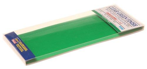 HASEGAWA 71820 Adhesive Finish Sheet Clear Green