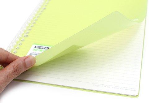 kokuyo campus notebook smart ring binder b5 26 rings yellow green