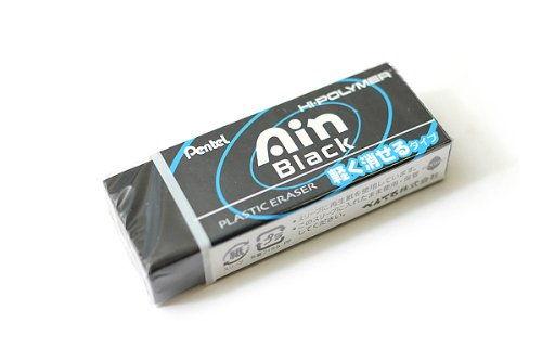 Pentel Hi-Polymer Ain Eraser Large - Black