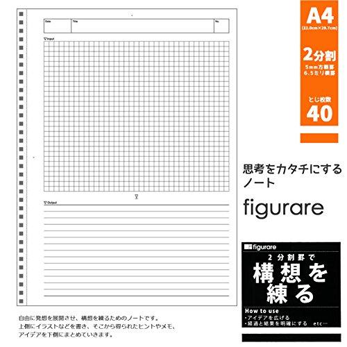 Apika Figurare concept flow notes SW132K black A4
