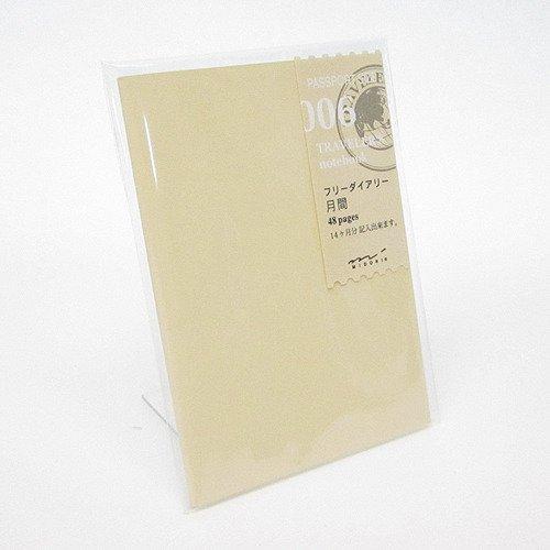 Midori Traveler's Notebook (Refill 006)...