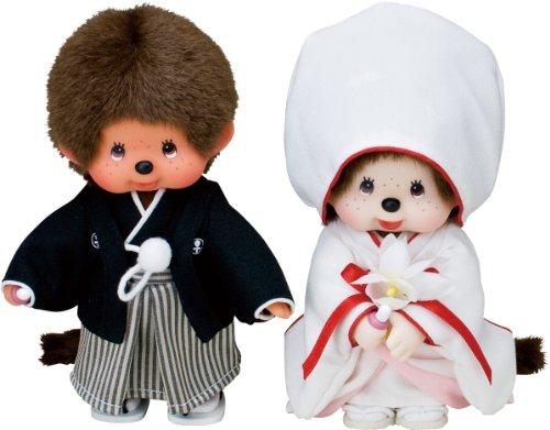 "Sekiguchi 8"" Tall Monchhichi Doll Japanese..."