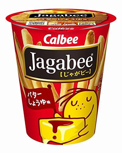 Calbee Jagabee (Jagabi) butter soy sauce 40g ~...