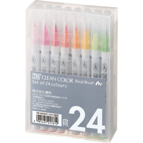 Kuretake ZIG Clean Color Real Brush...