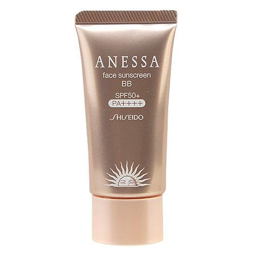 Shiseido Anessa Face Sunscreen BB SPF 50+...