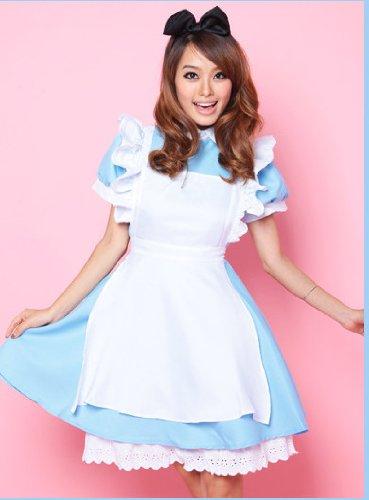 Maid (Blue) (Bow Headband with it!) / Costume...