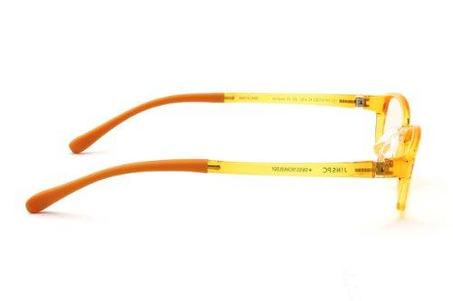 3de1972412b JINS - PC Glasses Computer Eye wear Yellow - Light Brown Lenses from Japan  shopping service.