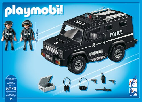 playmobil tactical unit car from japan shopping service