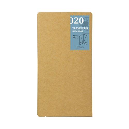Midori Traveler's Notebook Refill (020) Craft File
