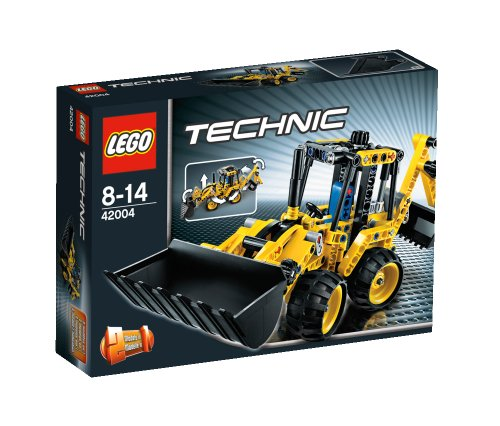 LEGO Technic 42004 Mini Backhoe Loader1