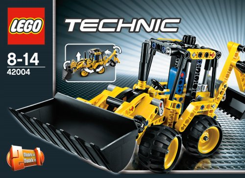 LEGO Technic 42004 Mini Backhoe Loader3