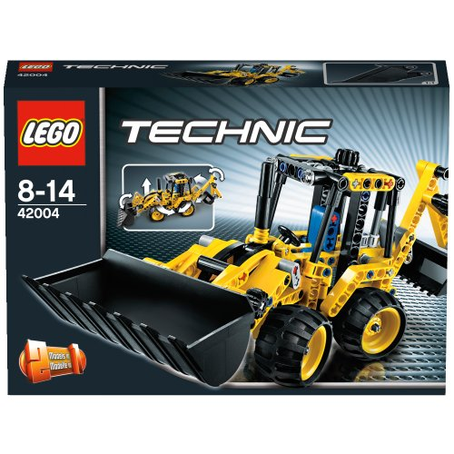 LEGO Technic 42004 Mini Backhoe Loader4